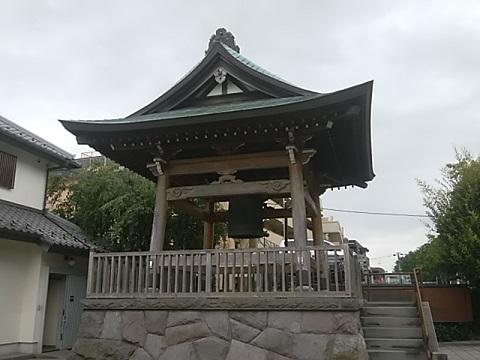 観福寺鐘楼