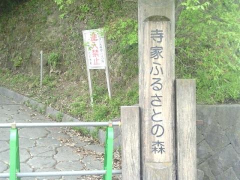 寺家ふるさとの森熊野神社口