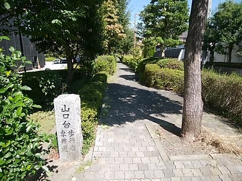山口台歩行者専用道