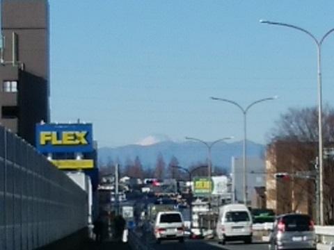 国道246号線富士山