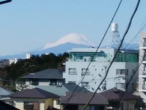馬場3丁目富士山