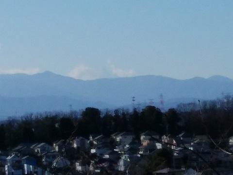 弁天公園富士山