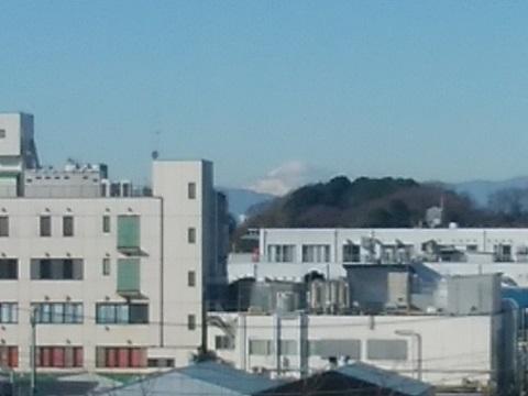太尾公園富士山