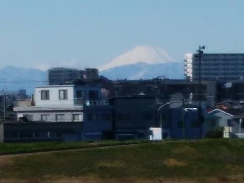 ガス橋富士山