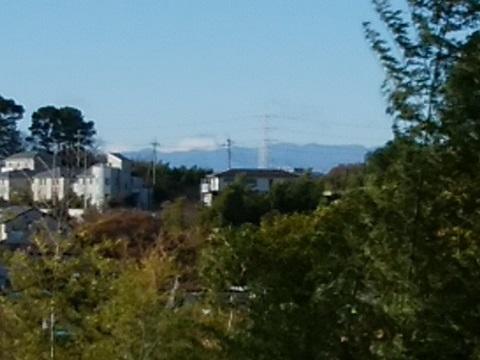 八幡山公園富士山