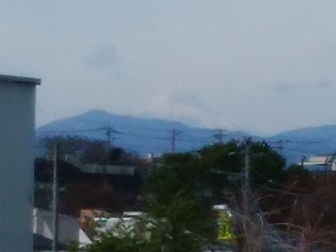 白山通り富士山