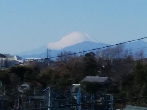 東寺尾3丁目富士山
