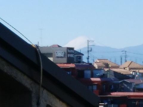 東寺尾4丁目富士山