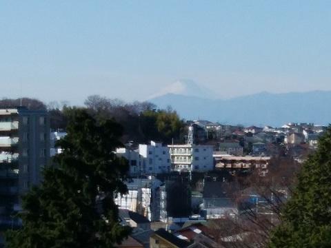 法隆寺富士山