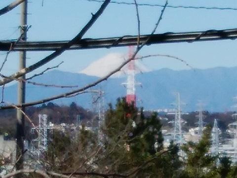 梶山2丁目富士山