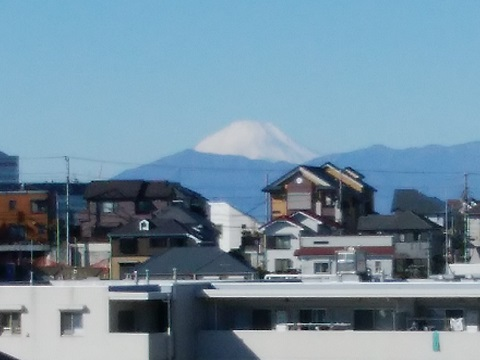 上の宮2丁目富士山