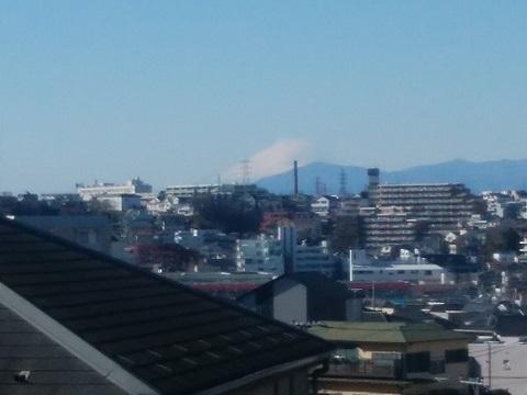 駒形天満宮富士山