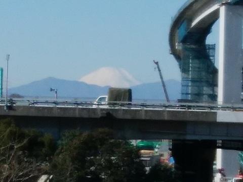 小机大橋富士山