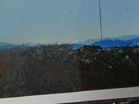 桝形山展望台南アルプス