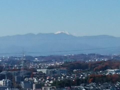 王禅寺見晴らし公園富士山