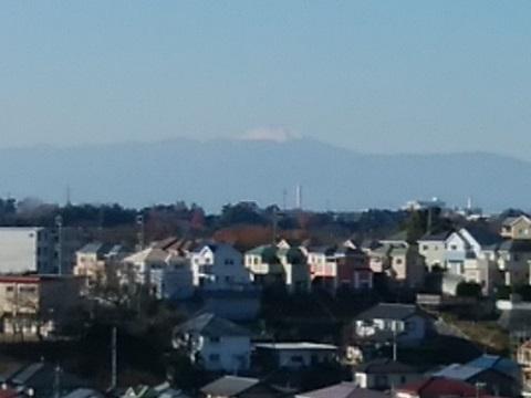 見晴らし坂富士山