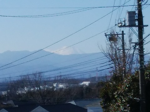 七国峠富士山