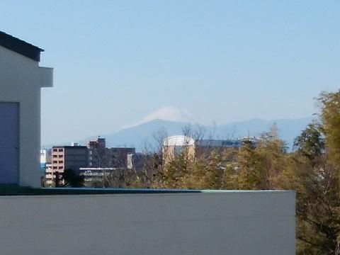 篠原中学校富士山