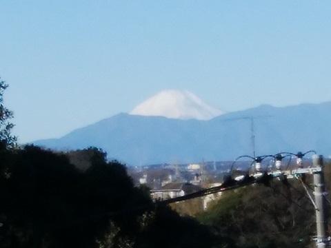 獅子ヶ谷2丁目富士山