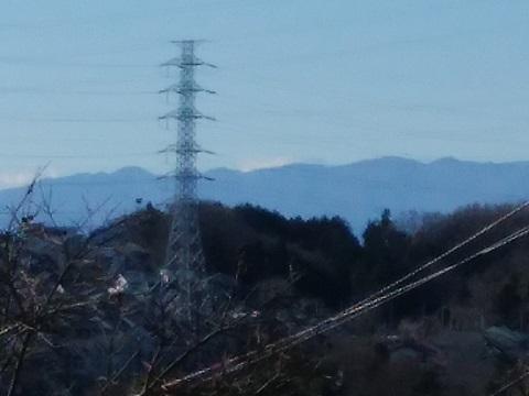 すみよし台の高台富士山