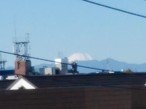 諏訪歩道橋富士山