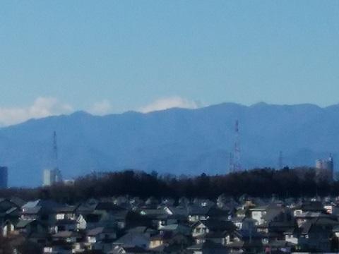 たちばな台公園富士山