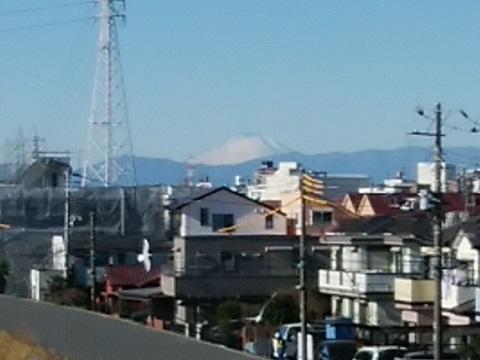 鷹野人道橋富士山