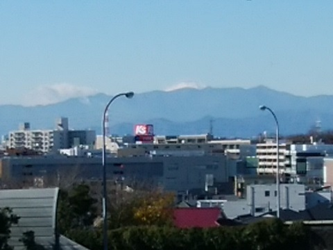 美しが丘2富士山