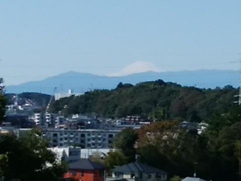 夢見ヶ崎動物公園富士山