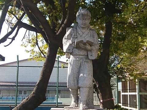 川中島小二宮金次郎