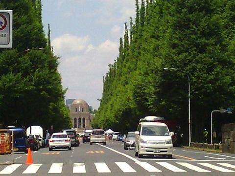 明治神宮外苑の並木道