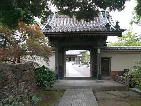 本覺寺山門
