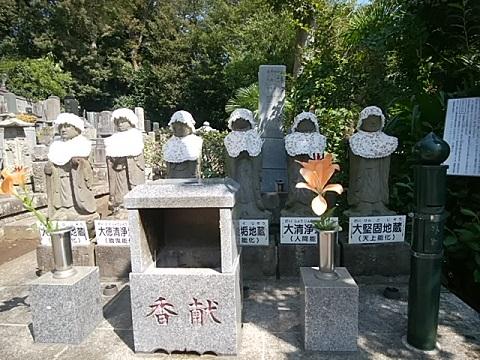 青蓮寺六地蔵