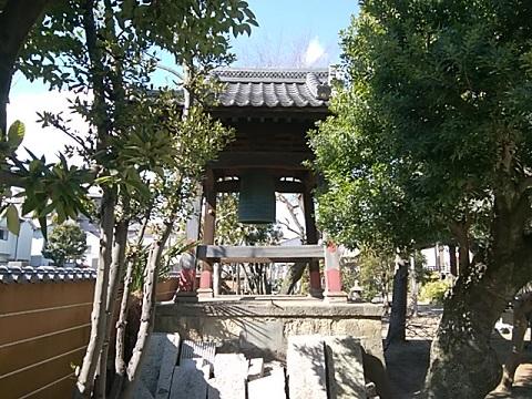 相応寺鐘楼