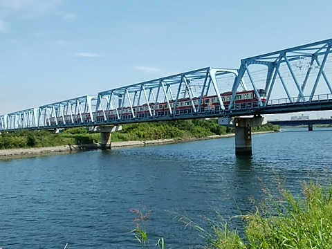 京浜急行多摩川鉄橋