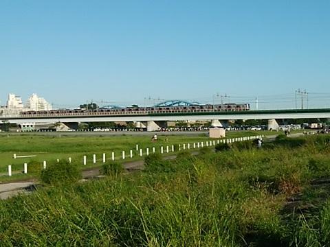 東横線多摩川鉄橋