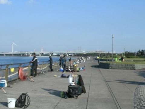 西公園釣り場