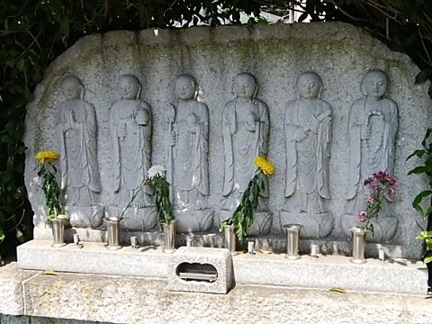 浄泉寺六地蔵