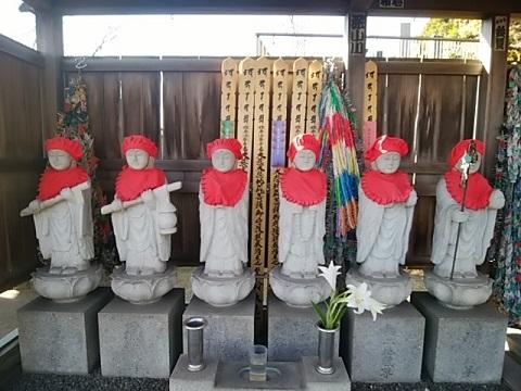 光明寺六地蔵