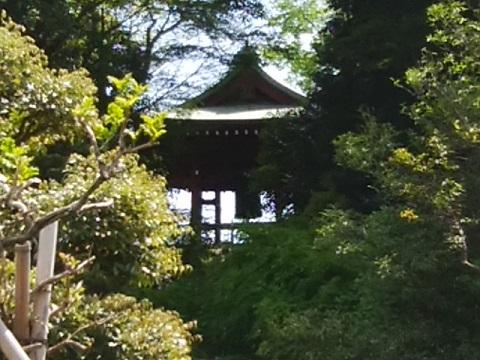 泉谷寺鐘楼