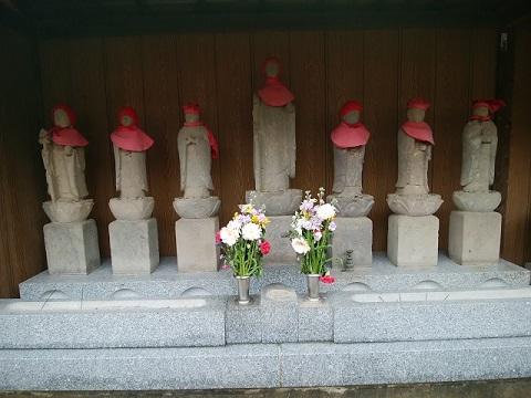 東林寺六地蔵