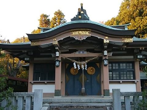北新羽杉山神社