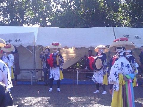 篠原八幡神社秋祭り