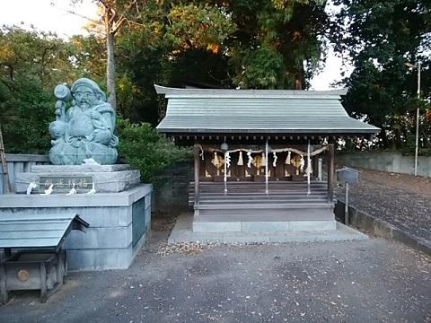 北新羽杉山神社大黒