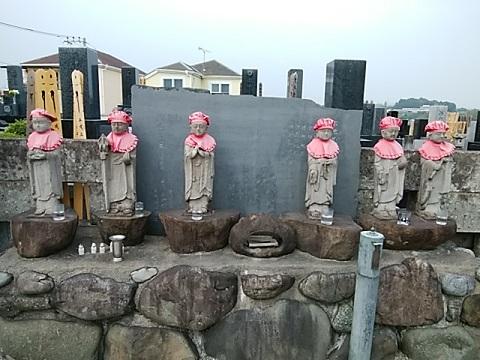 寶袋寺六地蔵