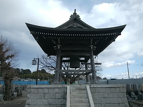観護寺鐘楼