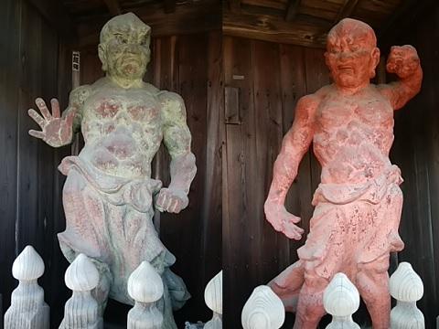 萬蔵寺仁王像