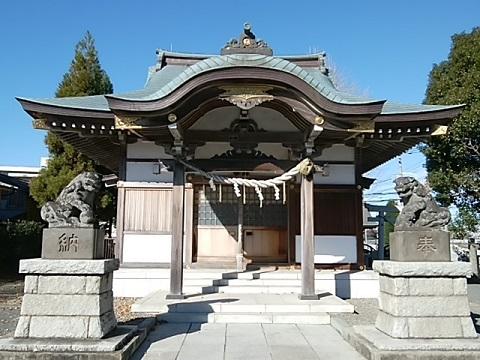 三保杉山神社