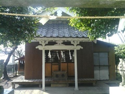 下長津田神社