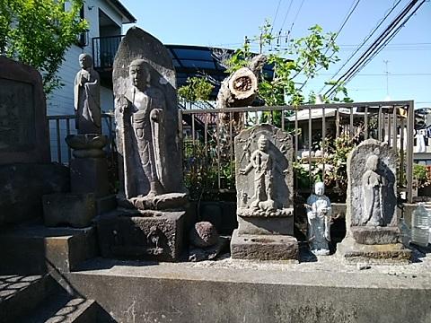 連性寺庚申塔